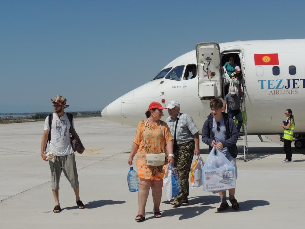 Аэропорт Тамчы3