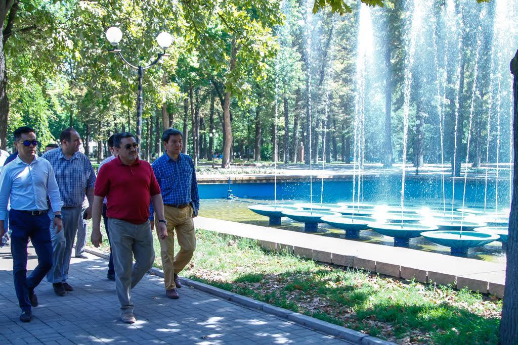 Албек Ибраимов фонтане