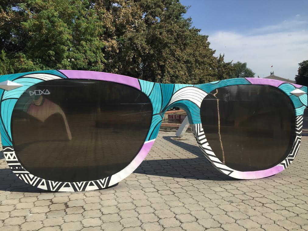 Арт-инсталляция «Очки. Точка зрения»2