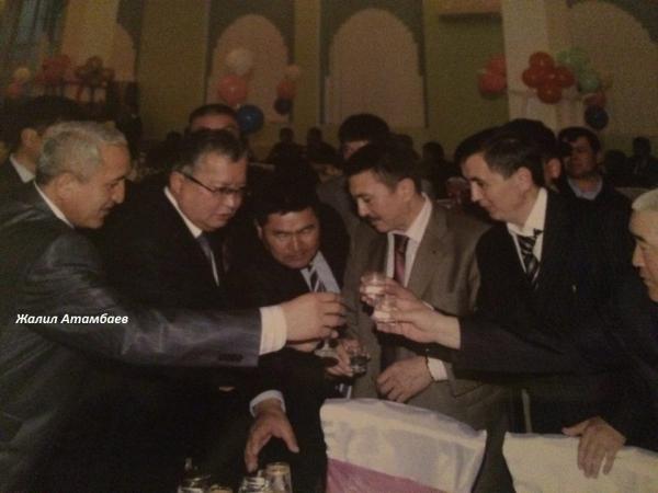 Жаныш Бакиев  Жалил Атамбаев и др